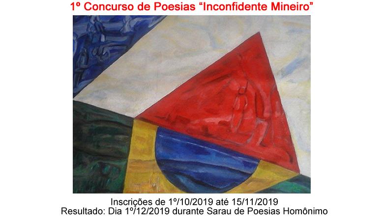 """Sarau Poético: """"Inconfidente Mineiro"""""""